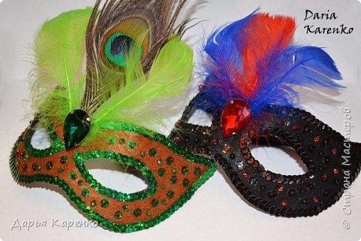 Шикарные карнавальные маски
