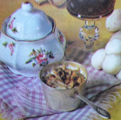 Шампиньоны в сметанном соусе
