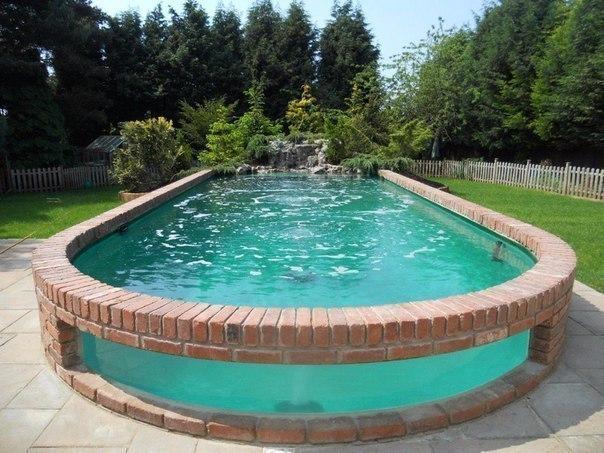 Вот такой бассейн на даче
