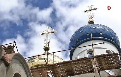 На юге Москвы завершается строительство нового храма