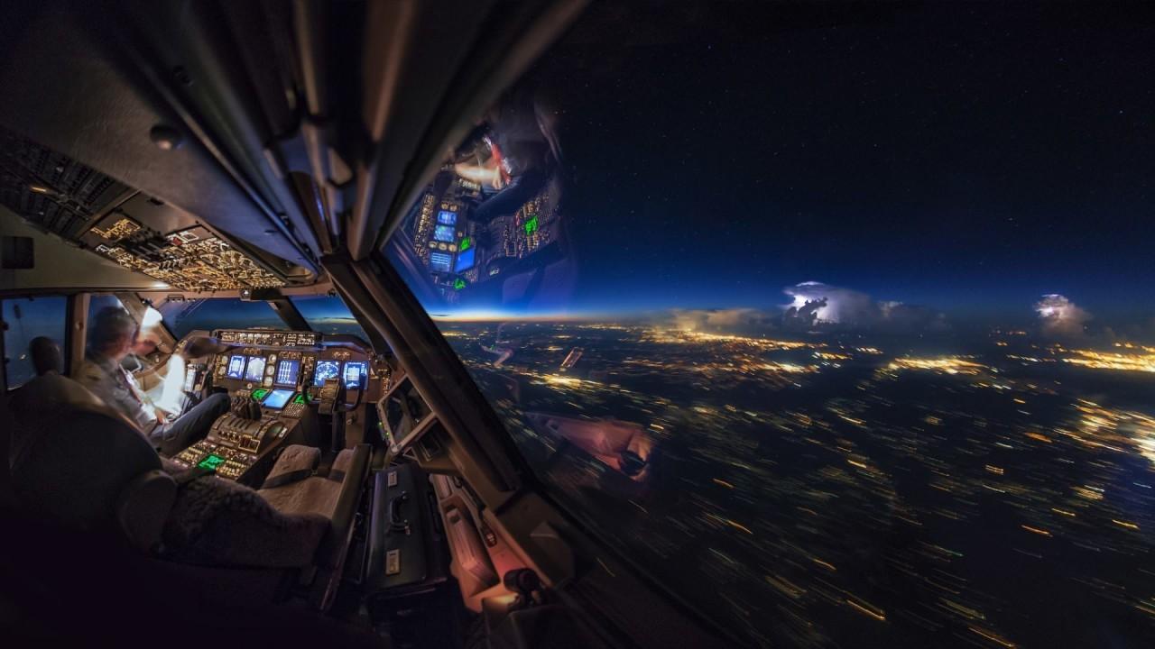 Гигантская буря над Арканзасом, США аэросъемка, кабина пилота, кабина самолета, красивые фотографии, пилот, с высоты, с высоты птичьего полета, фотограф