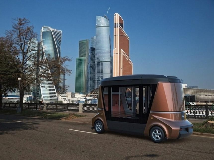 «Матрёшка» на колёсах: российский беспилотный автобус удивит мир