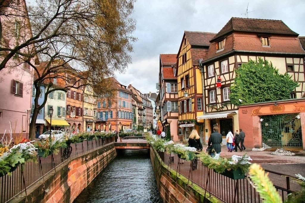 Кольмар - необыкновенно привлекательный французский городок