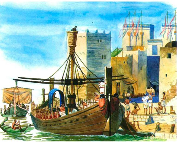 Древние цивилизации. Морская торговля древней Финикии