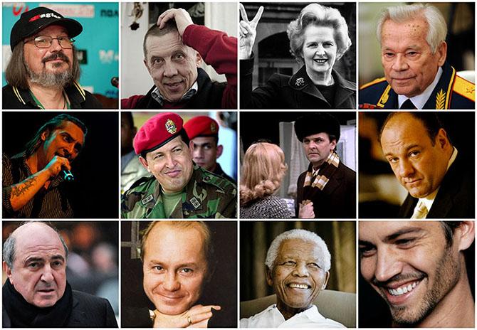 Знаменитые люди, которые ушли из жизни в 2013 году