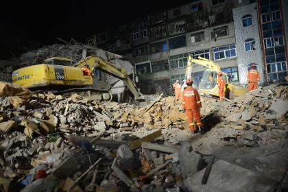 В китайском Вэньчжоу второй раз за год обрушились жилые здания