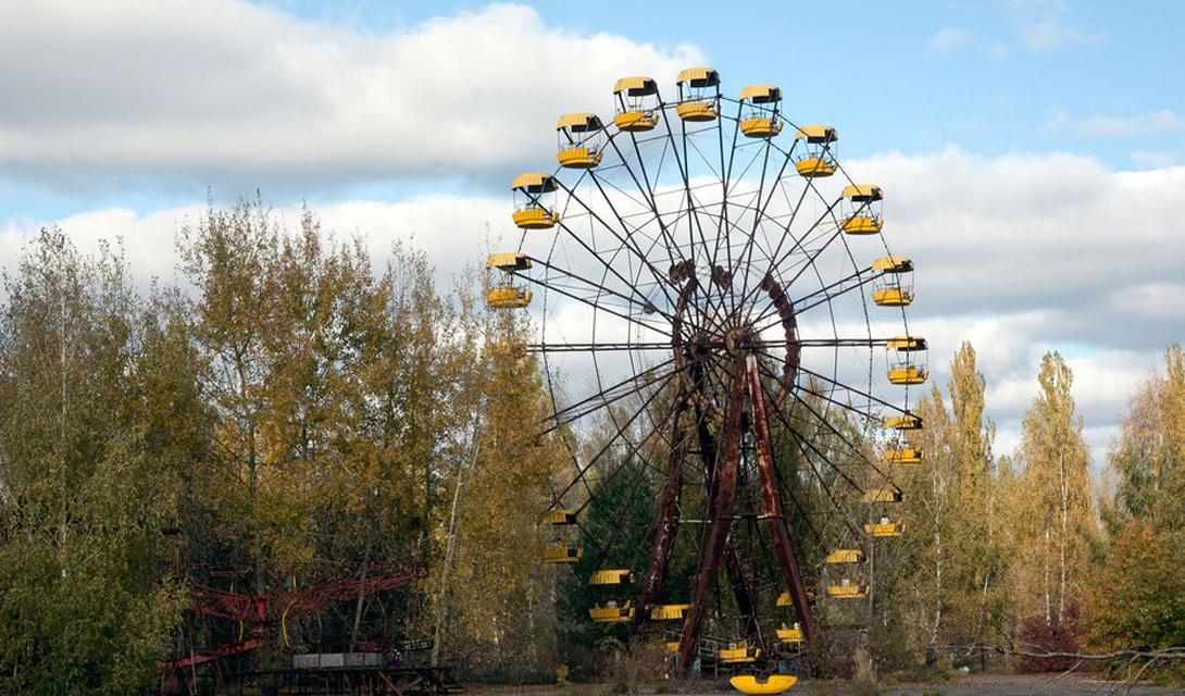 Припять, Украина. Жуткие места планеты.