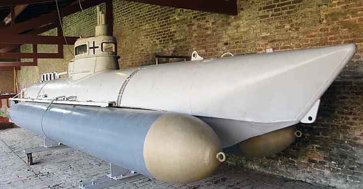 Немецкая сверхмалая подводная лодка типа «Biber»