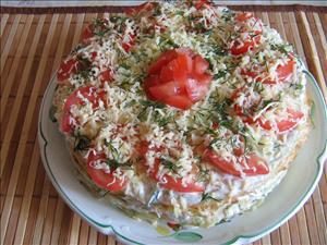 кабачковый нежнейший торт