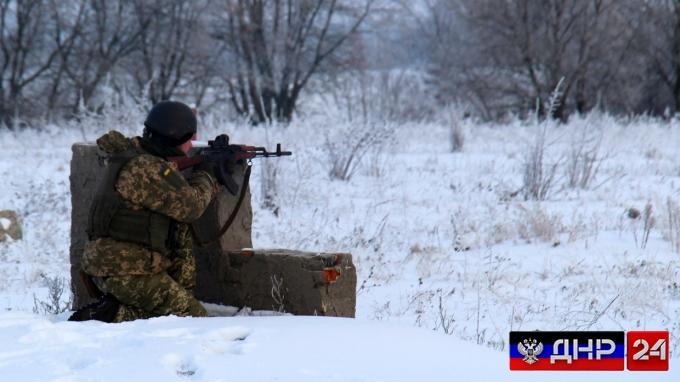 Сводка с линии фронта ДНР на 16 января