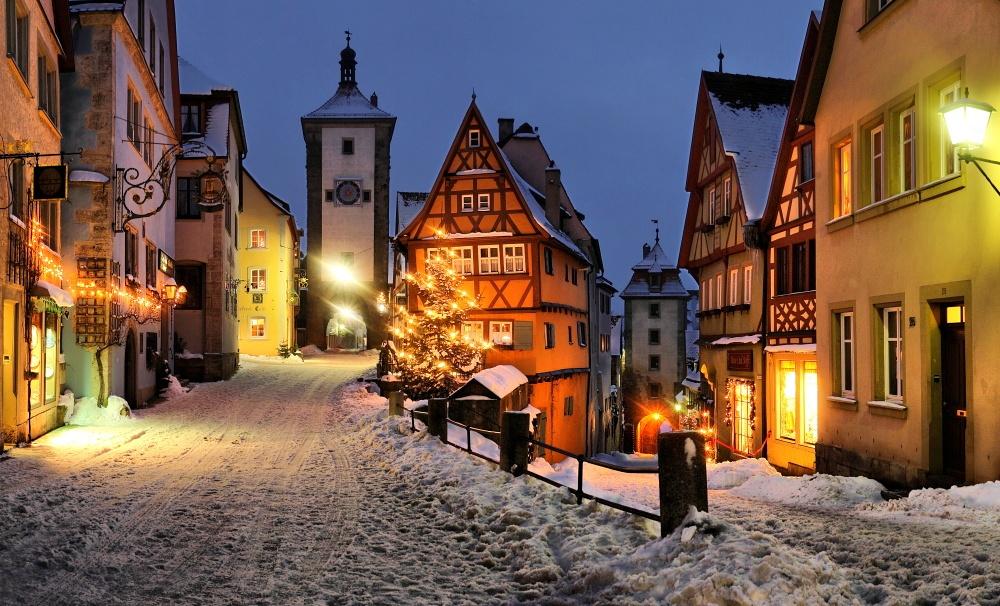 Живописные города, которые становятся еще прекраснее с приходом зимы