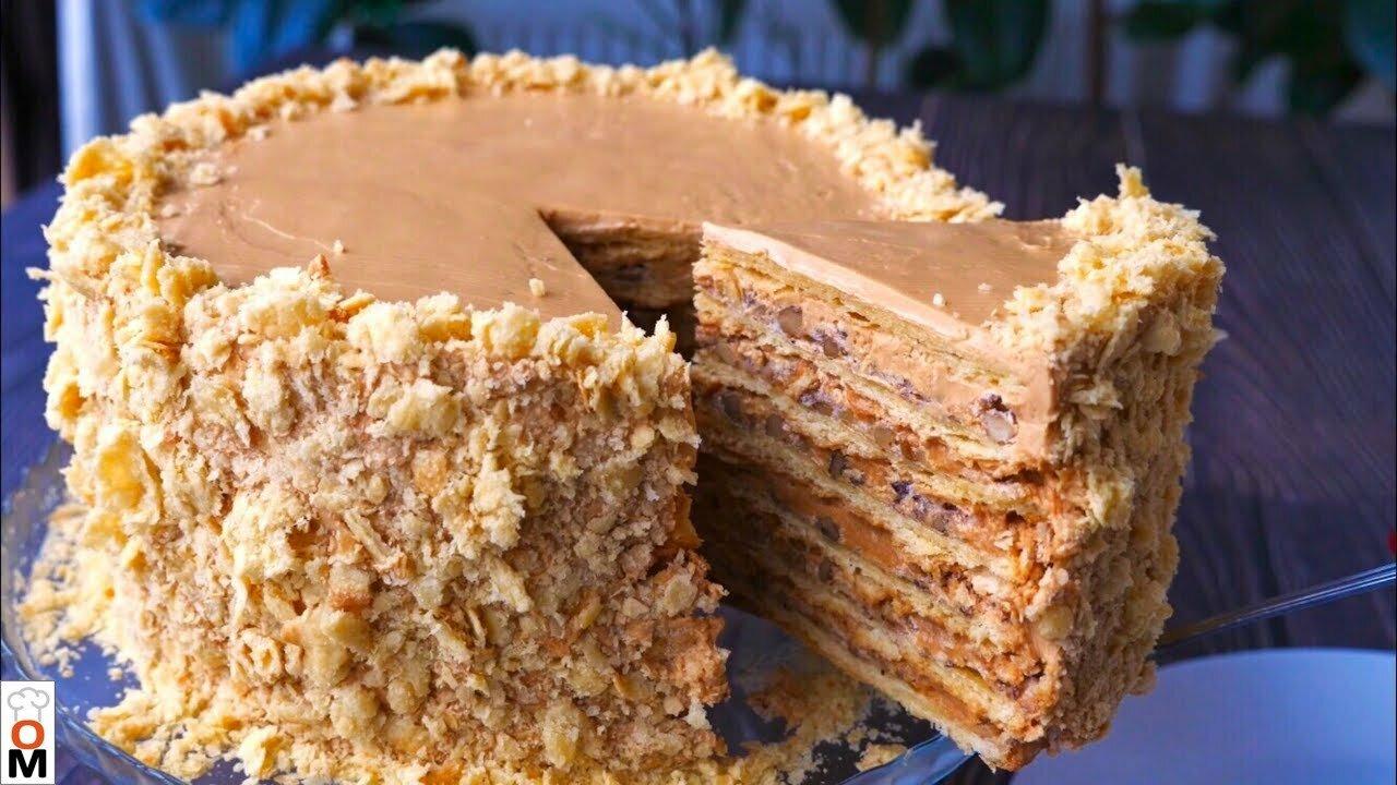 """Торт «Наполеон"""" по-новому. В…"""