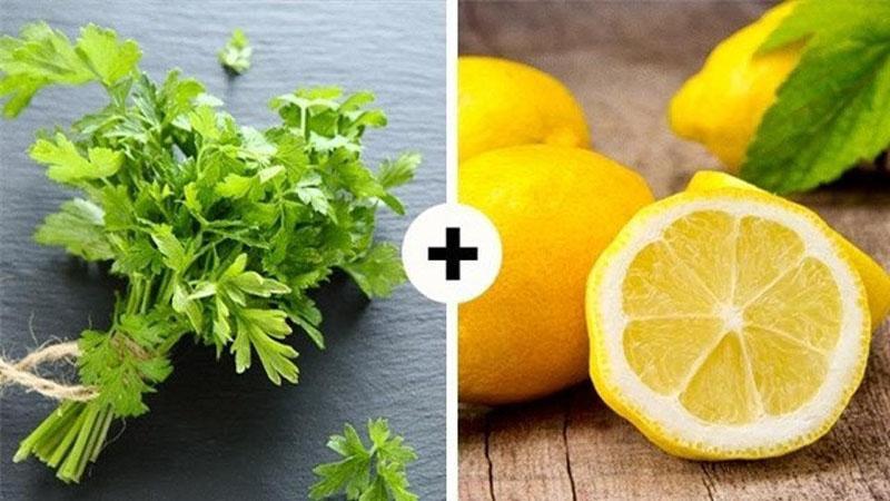 витамина С в петрушке больше чем в лимоне