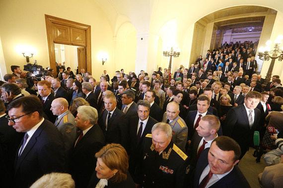 Кто пришел на инаугурацию Путина