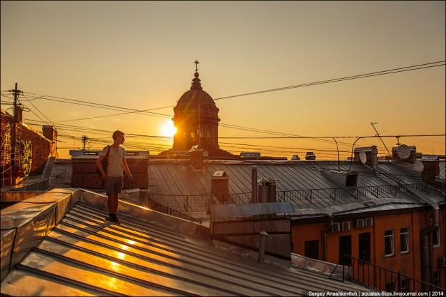 Увлекательные путешествия по прогулочным крышам Санкт-Петербурга