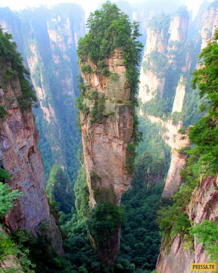 Места уникальной красоты в Китае