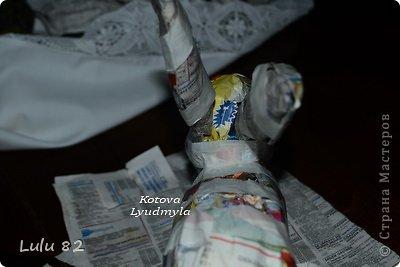 Скоро Пасха, во многих странах символом этого праздника является пасхальный заяц. Вот я и решила его сделать. . Фото 10