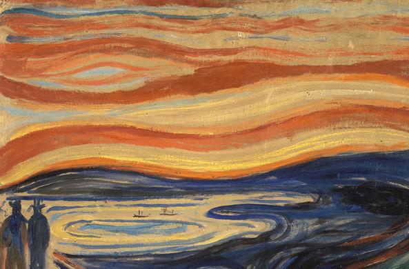 Раскрыта тайна странных облаков с картины «Крик»