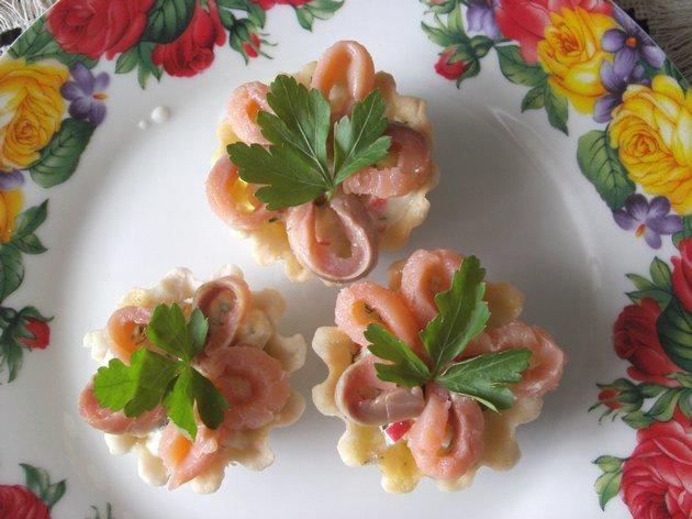 Рыбная начинка для тарталеток на праздничный стол рецепты с фото