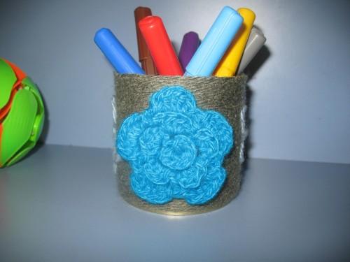 Декор баночки (мастер-класс)