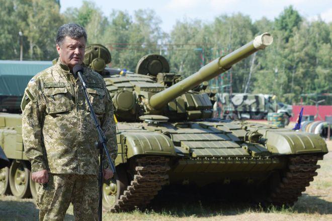 Количество танков Т-72 в вооруженных силах Украины