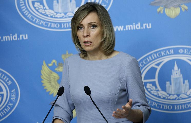 """Захарова назвала """"информационной каруселью"""" антироссийские публикации в СМИ ФРГ"""
