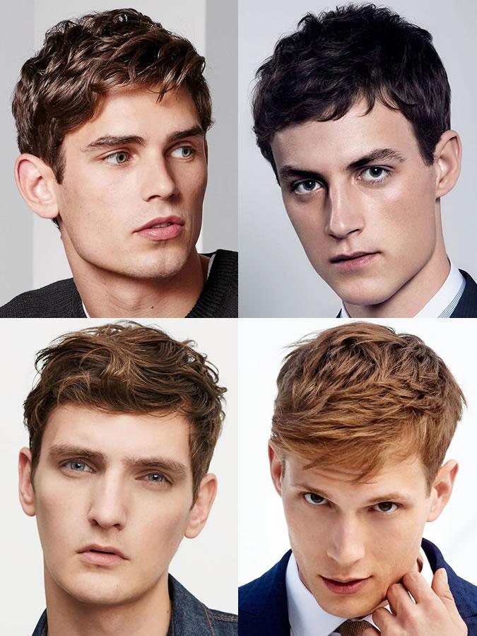 Haircut face shape