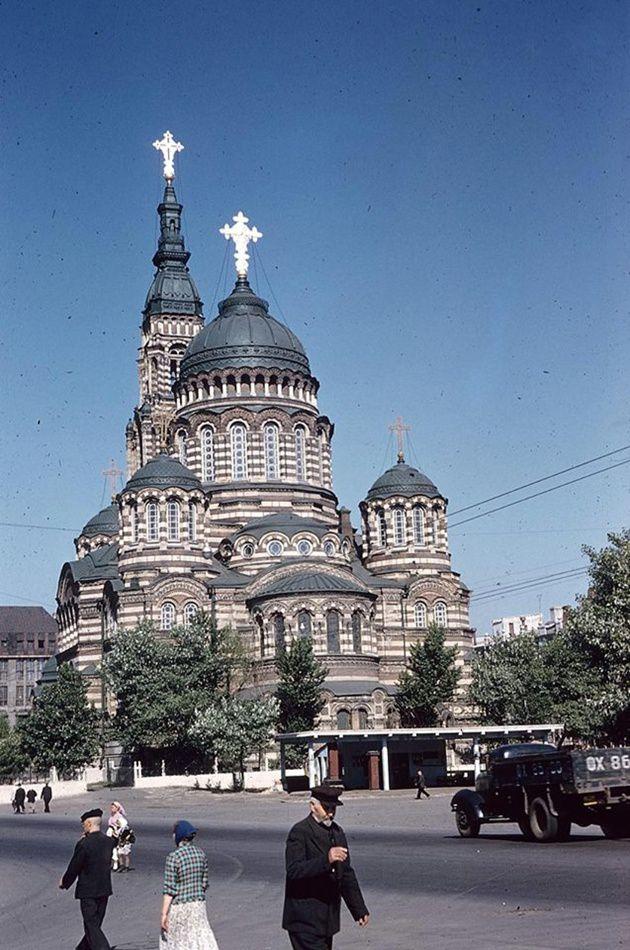Как выглядел Харьков полвека тому назад харьков, 1959 год