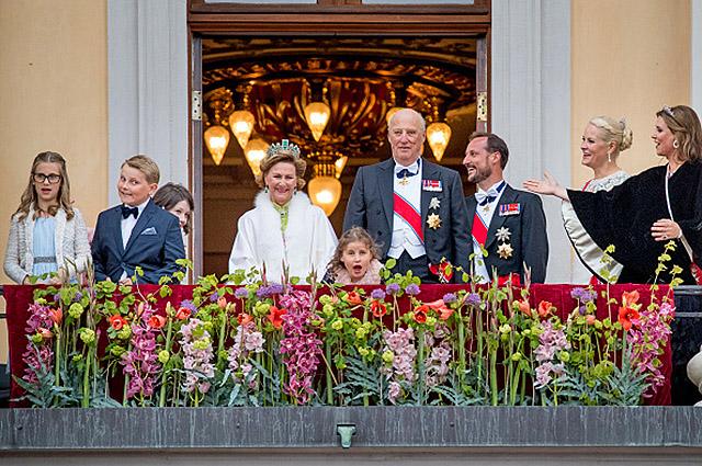 Члены королевской семьи Норвегии