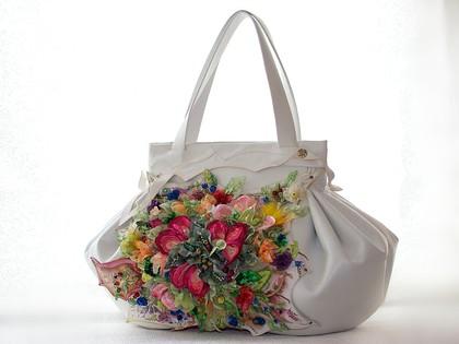 Женские сумки ручной работы. Ярмарка Мастеров - ручная работа Rachelle-Flowers. Handmade.