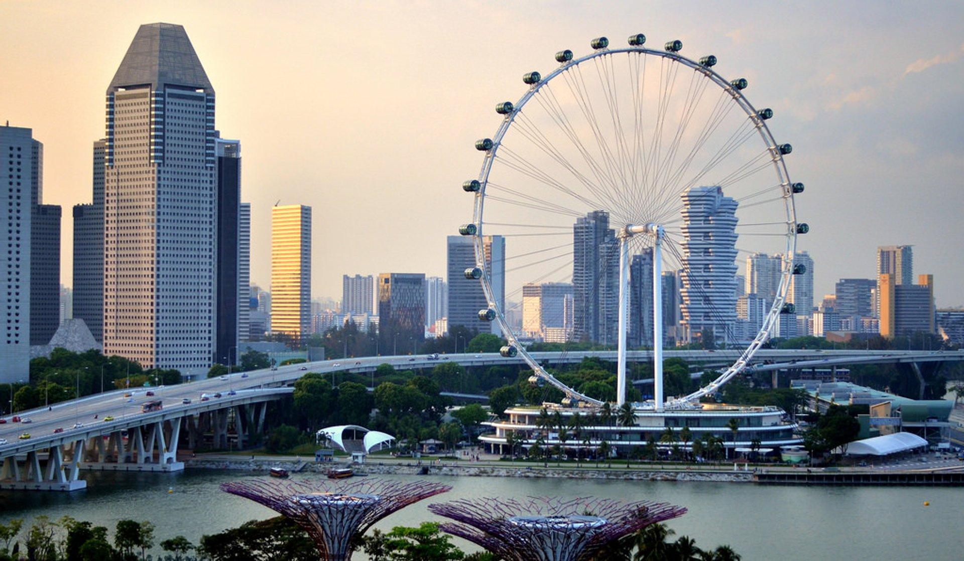 Колесо Singapore Flyer