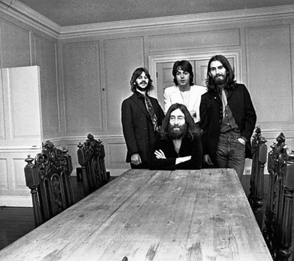 Последняя фотосессия The Beatles
