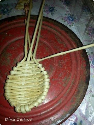 Плетение из газет. Декоративные ложки для украшения кухни (9) (360x480, 104Kb)