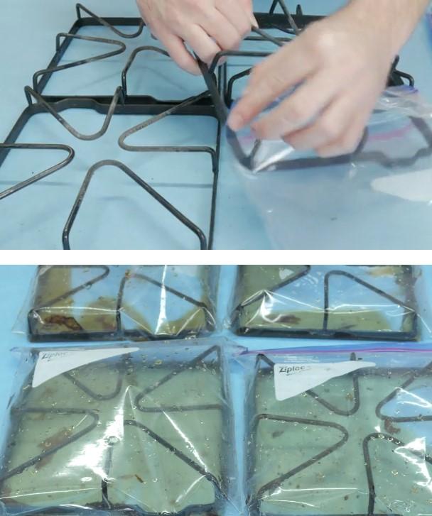 Как очистить старую плиту