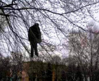 Начальника милиции Мариуполя повесили на осине?