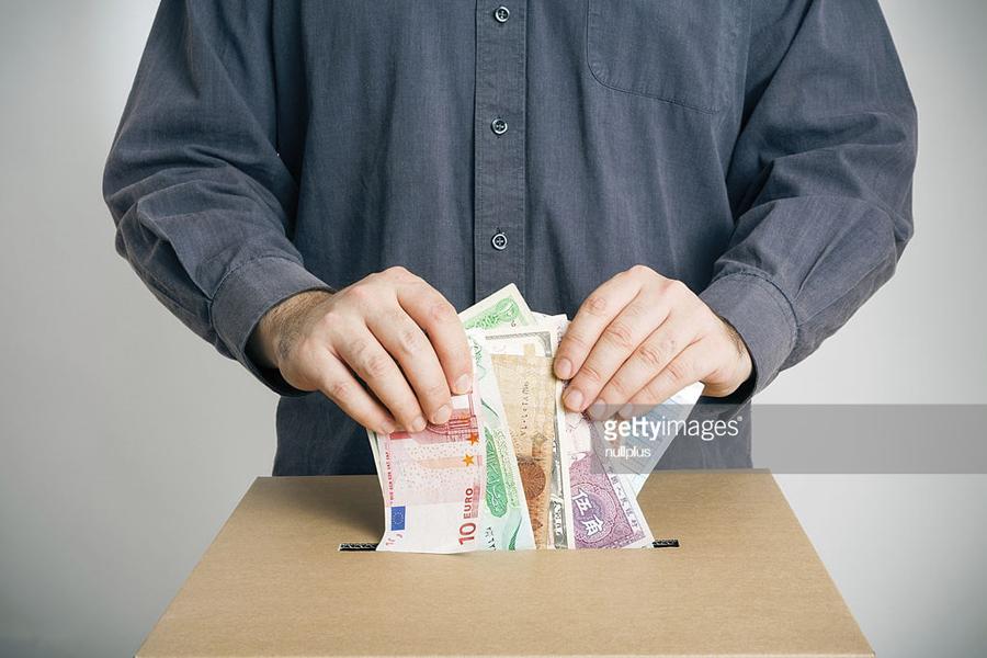 О голосовании против России рублём и долларом