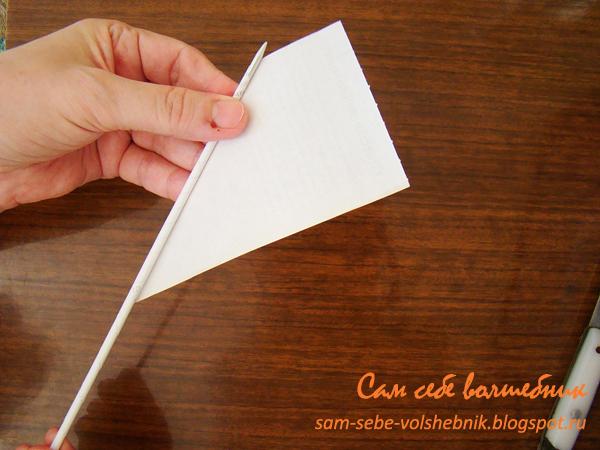 Трубка из картона как сделать