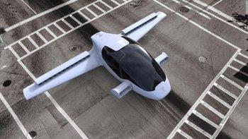 Опубликовано видео первого летающего электромобиля с вертикальным взлетом