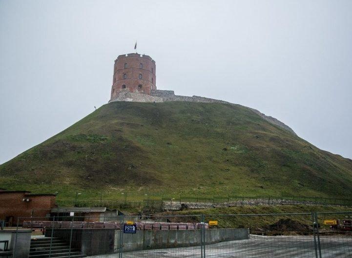 Стало: Вильнюс, башня Гедиминаса, литва
