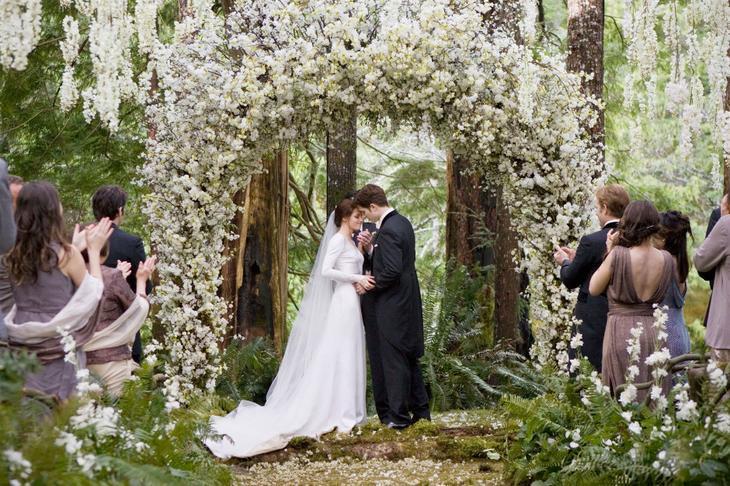 Свадьба в «Сумеркках»