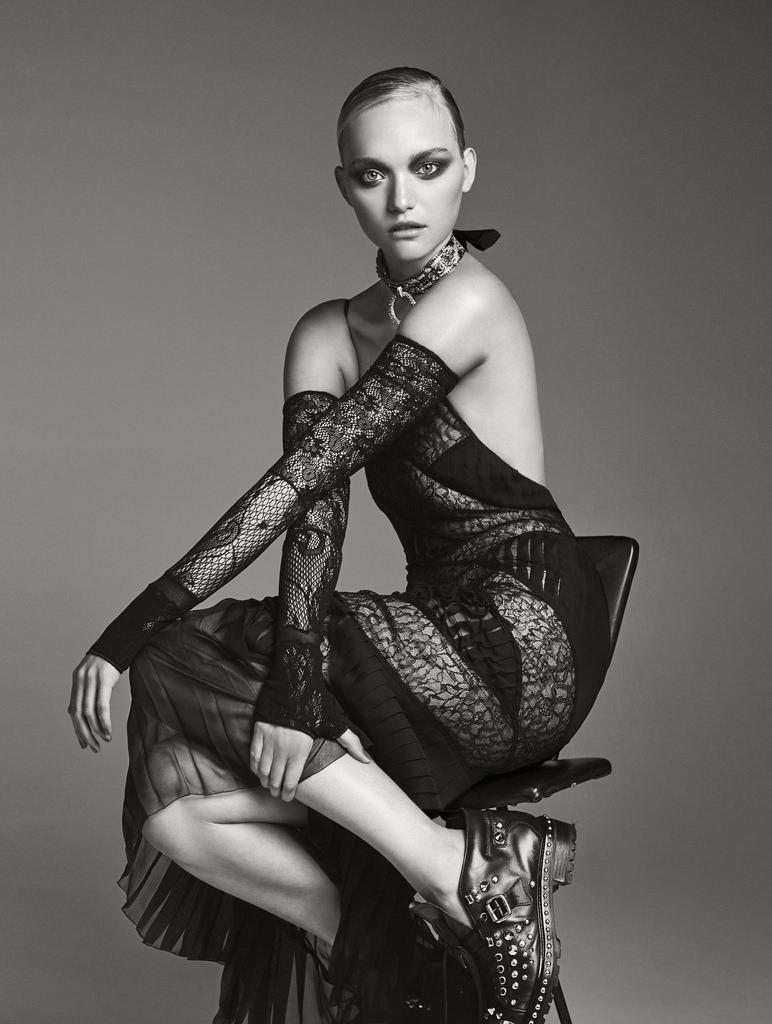 Джемма Уорд — Фотосессия для «Elle» AU 2016