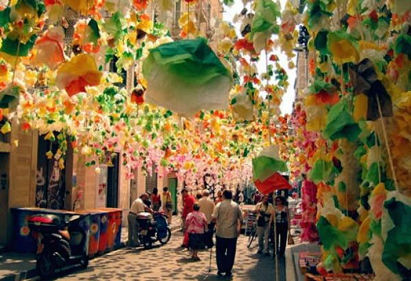 Вилла де Грасиа (Барселона, Испания)
