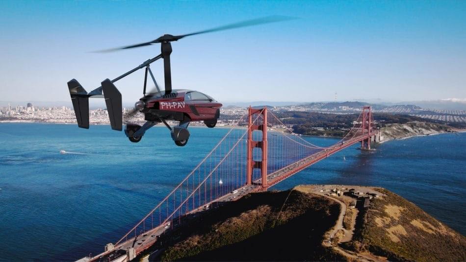 В Нидерландах начали продавать автомобиль, который может летать, как вертолет