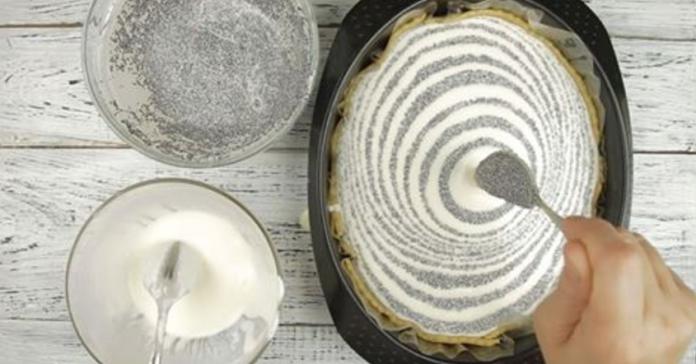 Необычное сочетание творога и мака  в обалденно вкусном пироге!