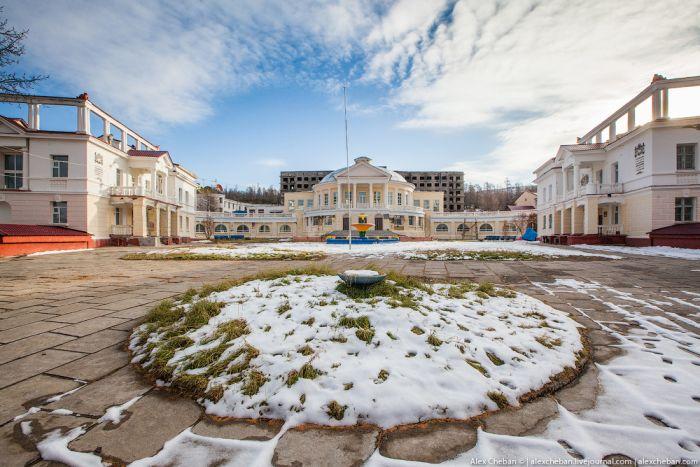 Настоящий советский санаторий в Магаданской области