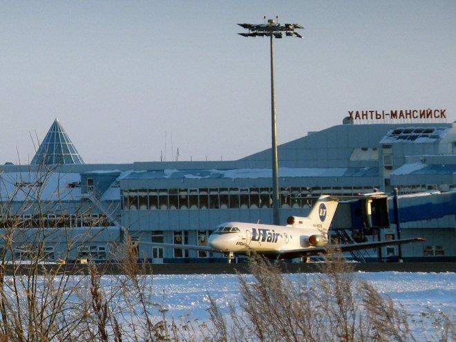 Пассажиры рейса Сургут—Москв…