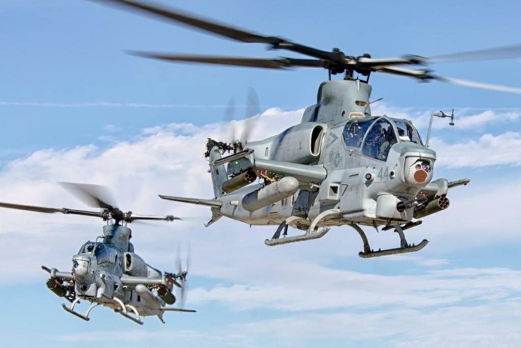 Бахрейн подписал соглашение о приобретении 12 американских боевых вертолетов AH-1Z