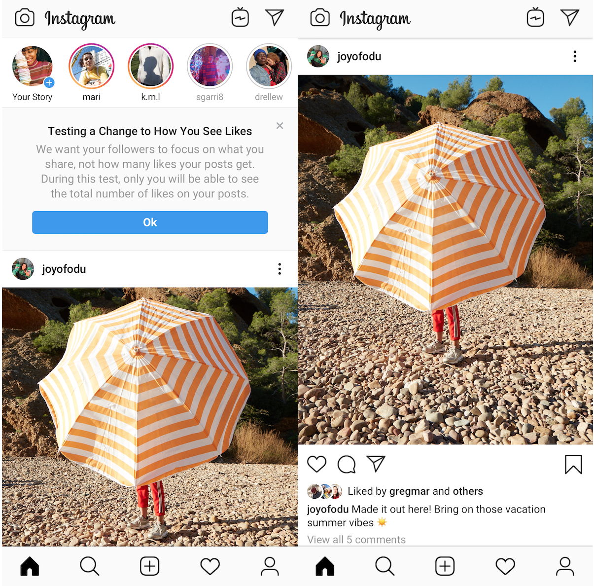 Instagram to test hiding Like counts in the US next week