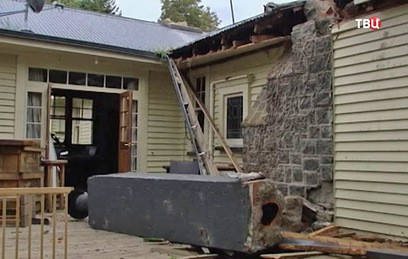 В Новой Зеландии после очередного землетрясения эвакуируют туристов