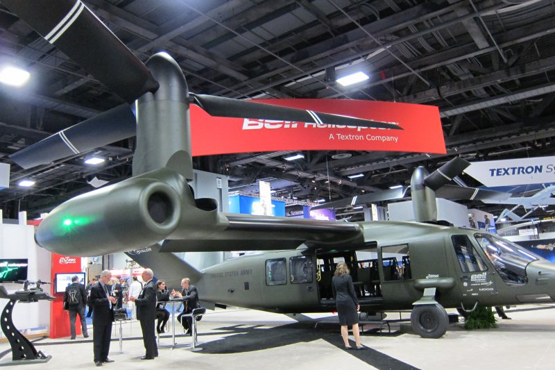Bell presented a draft of the third generation tiltrotor - V-280 Valor